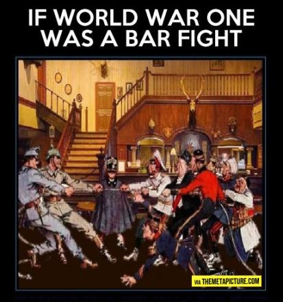 WWI-barfight